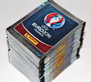 Panini UEFA EM EURO 2016 France - INTERNATIONAL EDITION 100 Tüten packets MINT!