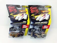 Speed Racer Hot Wheels Lot GRX & Musha Motors Race Car Spear Hooks