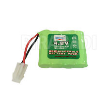 PACK BATTERIE 4.8V 1300MAH ACCU BATTERY RECHARGEABLE GRANDE CAPACITE JOUET PLUG