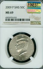 2009-P KENNEDY HALF NGC MS69 SMS MAC FINEST REGISTRY MAC SPOTLESS .