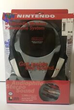 RARE Nintendo 64 Multimedia Wireless Infrared Stereo Headphone System Audiophile