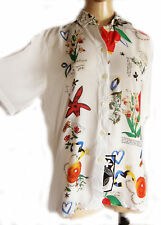Unbranded Size Petite Floral Blouse for Women