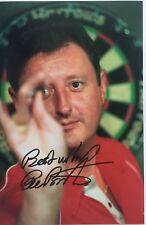 Eric Bristow Hand Signed Photo 9x6 World Champion Darts