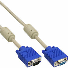 3DFX Voodoo I und II Loop Kabel VGA Stecker Buchse doppelt geschirmt 0.3m