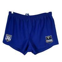 Canterbury Bulldogs NRL Mens Shorts Size Medium Good Condition Elastic Waist