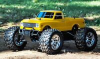 1972 Chevy C10 Redcat Volcano S30 4X4 1/10th 45+MPH Nitro RC Monster Truck RTR