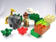 LEGO DUPLO Postes Animal Petits Ours polaire Girafe éléphant et Infirmière