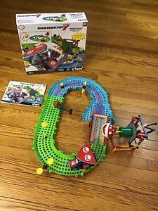 Mario Kart 7 Knex Piranha Plant Slide Track Race Toy Building Toy 99% Complete