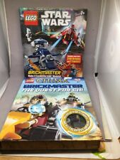 LEGO Star Wars Brickmaster book building models Chima Lot New