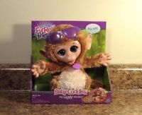 FurReal Friends Baby Cuddles My Giggly Monkey Pet Plush Interactive Toy NEW