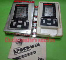 80s EPOCH ELECTRONIC HANDHELD GAME WATCH PACMAN PAC MAN BOXED RETRO VIDEO JEU