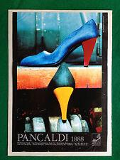 PCA158 Pubblicità Advertising Werbung Clipping - PANCALDI SCARPE SHOES