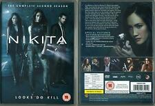 NIKITA - COMPLETE SEASON 2 Box Set (DVD, 2012, 5-Disc Set)