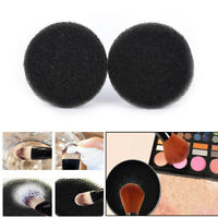 2Pcs Color Makeup Brush Clean Eye Shadow Sponge Cleaner Tool Switch Cosmetic NTA