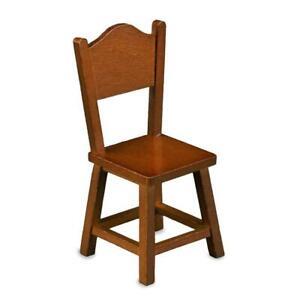 Dollhouse Country Kitchen Chair 1.748/5 Wood Reutter Porcelain Miniature
