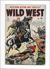 "WILD WEST #2 [1948 GD] ""NO GUNS FOR A KILLER!"""