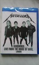 Metallica Hardwired Live From The House Of Vans London 2016 New Blu-Ray