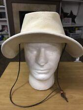 Henschel Hat Company Gardening Fishing Mowing Beach Cap Hat Sz Large