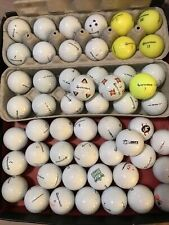 100 Mix Taylormade White Some Yellow Golf Balls Aaaa