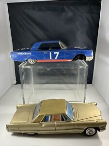 Vintage Bandai Friction Cars Ford Thunderbird And Cadillac
