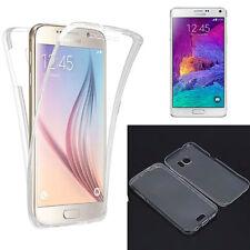 Funda gel transparente tapa delantera Tactil para Samsung Galaxy S7 Edge TPU