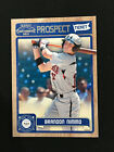 BRANDON NIMMO ROOKIE 2011 PANINI PLAYOFF NEW YORK METS RC BASEBALL CARD. rookie card picture