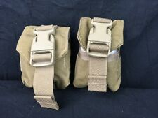 USMC Military Surplus - Eagle MOLLE II 500D Frag Grenade Single Pouch - Lot of 2