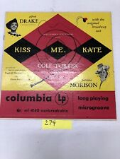 Kiss Me Kate Original Broadway Cast  Vinyl  LP Album