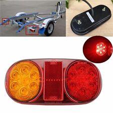 12V Truck Trailer Boat Tail Lamp Kit Waterproof LED Stop Indicator Light 1PCS