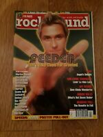 ROCK SOUND MAGAZINE ( 22 ) MARCH 2001 FEEDER ASH MARILYN MANSON TAPROOT AMEN