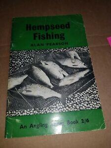 Hempseed Fishing paperback Alan Pearson Angling times book. Incredibly rare
