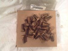 28x INGERSOLL RAND DRILLING RIG EXTENDABLE BOOM WEAR PLATE BOLT BRASS SPARE PART
