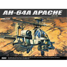 [SHIP FROM US] ACADEMY 1/48 AH-64A APACHE Helicopter Plastic Model Kit #12262