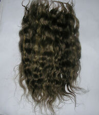MOHAIR REBORN DOLL HAIR WAVY - BLENDED LIGHT BROWN 10GRAMS