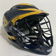 Cascade PRO7C WWB Lacrosse Helmet White Black WChin Strap Adult Size OSFM
