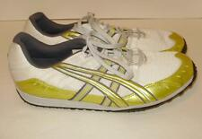 Mens Asics track cleats sneakers-Size 10.5-Yellow/gray/white