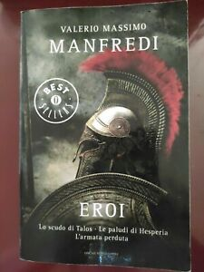 VALERIO M.MANFREDI: EROI (TRILOGIA COMPLETA)