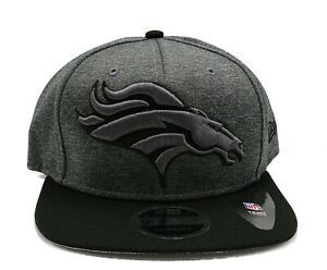 Denver Broncos New Era 9Fifty Heather Huge Adjustable Snapback Hat NFL