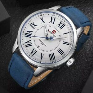 2018 New NAVIFORCE Men Quartz Sports Military Wrist Watches Men's Luxury Brand