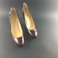"Ivanka Trump Sophia Patent Leather Pump Black Women Size 6.5"" M"