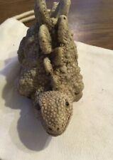 """Vintage Resin Dinosaur Stegosaurus figurine 3"""" x 4-1/2"""""""
