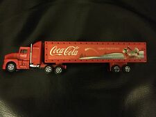 Coca Cola Collectable Light Up Toy Truck 'Open happiness'.