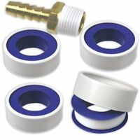 """4-Rolls Tape Thread & Fitting Sealant 1/2"""" x 520"""" Roll Water Pipe Air Hose Tape"""