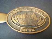 Copper letter opener Uniontown Co-op Association Since 1916