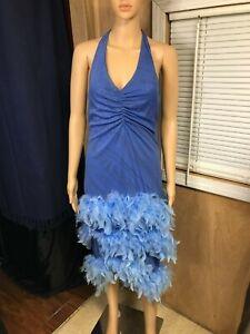 Vintage Feather Dress, My Michelle Size Medium