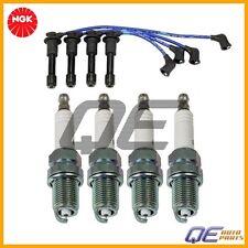 Mazda Miata Spark Plug and Spar Plug Wire Set NGK BKR5EGP ZE21