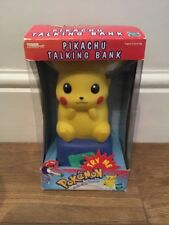 Tiger Electronics / Hasbro Pokemon Pikachu Talking Bank - 1999 - New & Sealed