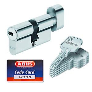 ABUS Knaufzylinder KD6 N 30/K35 Einzelschließung mit 5 Schlüsseln und Codekarte