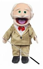 Silly Puppets 14 in Full Body Pops Grandpa(Caucasian) Glove Puppet w/Arm Rod NWT