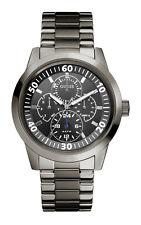 Guess w12623g1 Newport Men's Watch Stainless Steel Wrist Watch Gun Metal